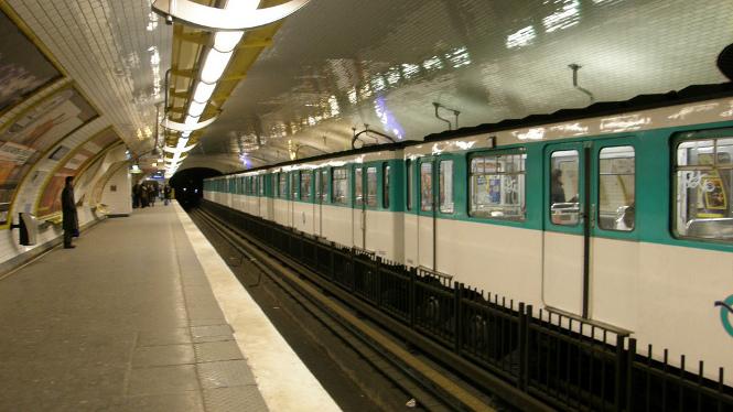"""""""Metro de París"""" von  jdelcidr"""